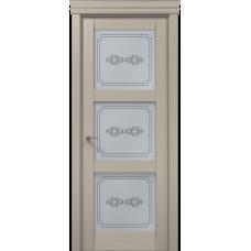 Межкомнатные двери Папа Карло Millenium-07 стекло бевелс