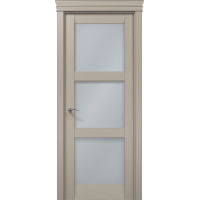 Межкомнатные двери Папа Карло Millenium-07 стекло сатин