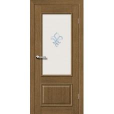 """Межкомнатные двери Брама 31.2 стекло """"Лилия"""""""