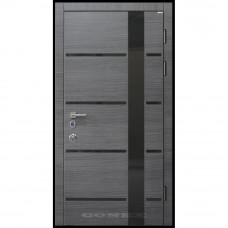 Входные двери со стеклом Conex 72 Стандарт