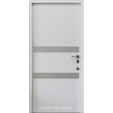 Входные двери со стеклом Conex 73 Стандарт