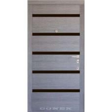 Входные двери со стеклом Conex 75 Стандарт