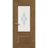 "Межкомнатные двери Брама 31.2 стекло ""Барокко"""