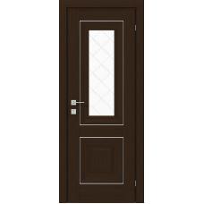 """Межкомнатные двери Rodos Versal """"Esmi"""" орех борнео"""