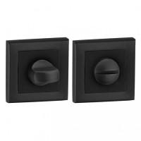 Защелка на дверь Forme квадратная розетка, черная