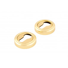 Накладка на замок Forme, круглая розетка с кольцом, золото