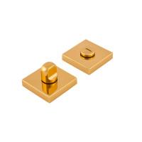 Защелка на дверь Forme квадратная розетка, золото
