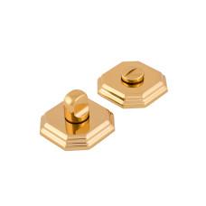 Защелка на дверь Forme, 8-угольная розетка, золото