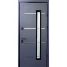 """Входные двери со стеклом STRAJ """"PROOF"""" Giada E"""