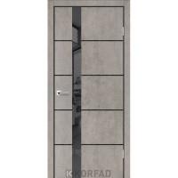 Межкомнатные двери Korfad Glass Loft Plato GLP-08