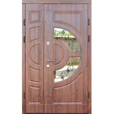 Входные двери Форт Трио-Греция стекло 1200 (уличные)
