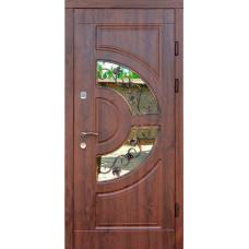 Входные двери Форт Трио-Греция стекло (уличные)