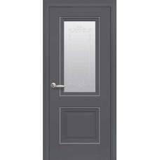 Межкомнатные двери Новый Стиль Элегант Имидж антрацит