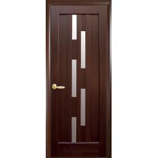 Межкомнатные двери Новый Стиль Лаура со стеклом сатин