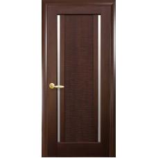 Межкомнатные двери Новый Стиль Луиза со стеклом сатин
