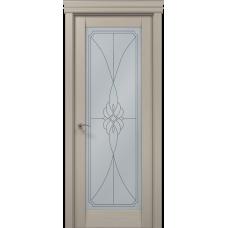 Межкомнатные двери Папа Карло Millenium-09 стекло бевелс