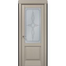 Межкомнатные двери Папа Карло Millenium-11 стекло бевелс