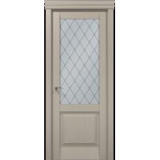Межкомнатные двери Папа Карло Millenium-11 стекло оксфорд
