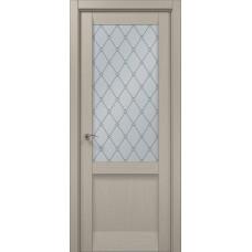 Межкомнатные двери Папа Карло Millenium-35 стекло оксфорд