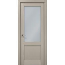 Межкомнатные двери Папа Карло Millenium-35 стекло сатин