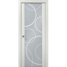 Межкомнатные двери Папа Карло Millenium-05 арт (рис. пескоструй)