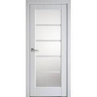Межкомнатные двери Новый Стиль Муза со стеклом сатин