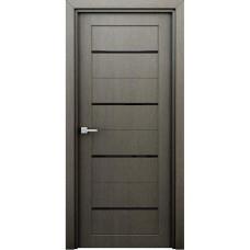Двери со стеклом Интерьерные Орион серый (ламинированые)