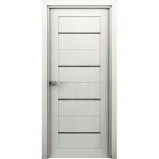 Двери со стеклом Интерьерные Орион перламутр (ламинированые)