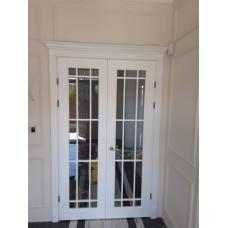 Двери из массива дерева под заказ №9