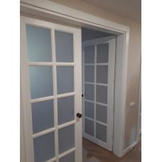 Двери из массива дерева под заказ №17