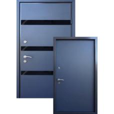 """Входные двери со стеклом STRAJ """"Proof SDW"""" Slim DV"""