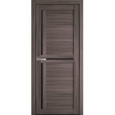 Межкомнатные двери Новый стиль Тринити черное стекло