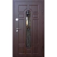 Входные двери Форт Трио-Классик стекло (уличные)