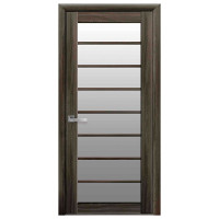 Межкомнатные двери Новый Стиль Виола стекло сатин