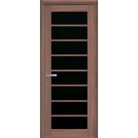 Межкомнатные двери Новый Стиль Виола черное стекло